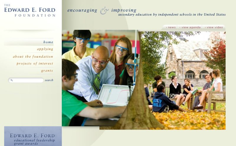Edward E Ford Foundation Homepage