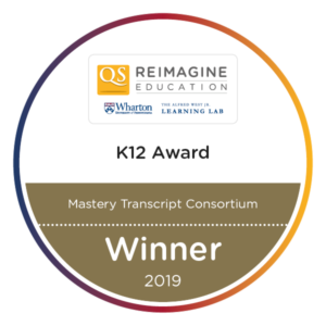 MTC Wins Reimagine Education Gold Award - Mastery Transcript